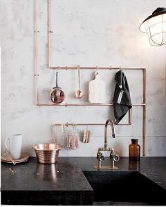 tubi in cucina