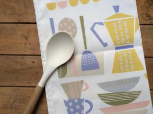 Tea Towel by Zoe Attwell