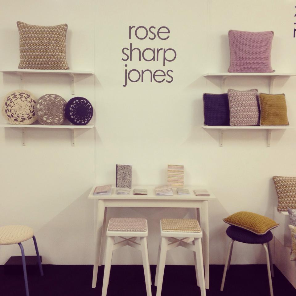 lo stand di Rose Sharp Jones