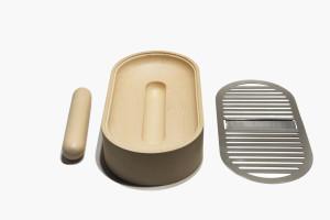 L'altra metà della mela   Kit per il riutilizzo delle bucce Design by Guglielmo Brambilla + Elena Biondi
