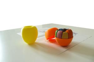 Melacolori   porta pastelli a cera Design by 3AF _ Antonia Volpone, Andrea Piergianni, Francesca Oliva