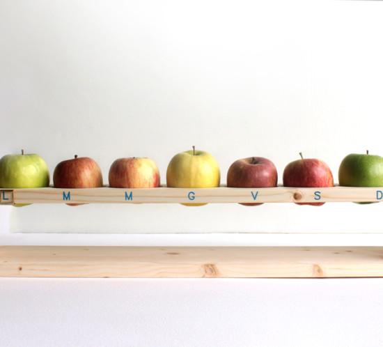 MELAdì – una mela al dì, portamele Design by DDuM, Laura Pirro, Giulio Mandrillo e Chiara Pirro.