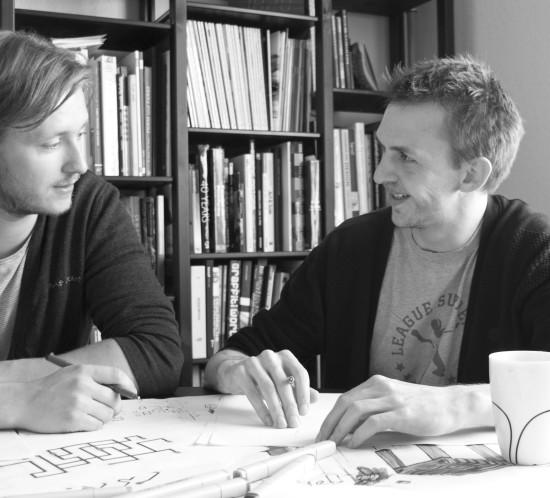 Søren Nielsen and Niels Grubak Iversen