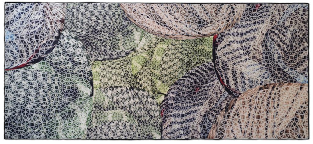 Tappeto della collezione Moving Forest