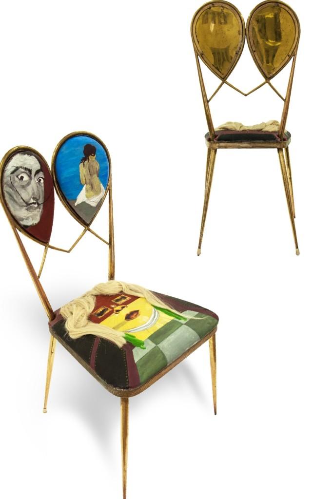 Le sedie di Emanuele Capissi