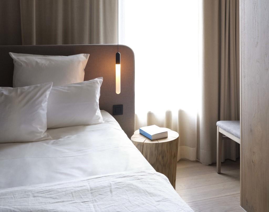 Una camera del Hotel de Vignée